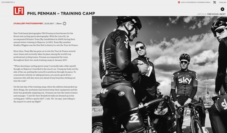 Leica Fotografie International- Training Camp