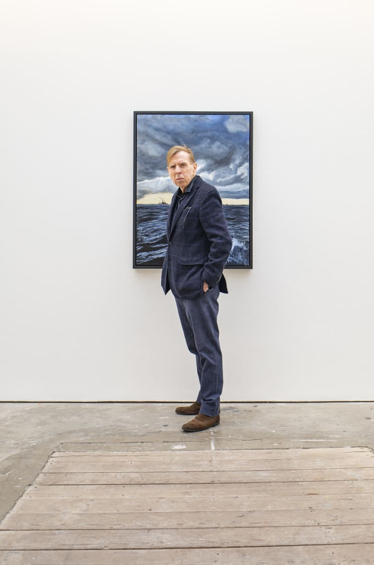 'Actor Timothy Spall Gets First Solo Show of His Paintings'