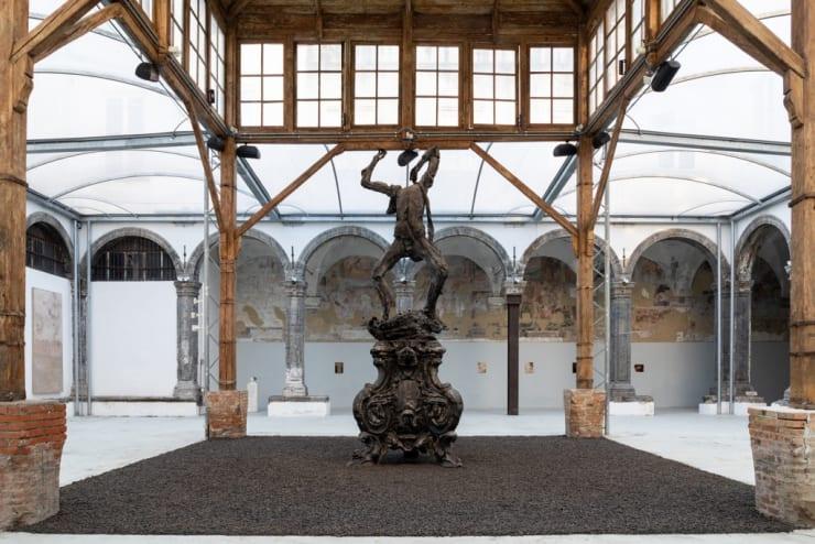 Nicola Samorì | Black Square at the Fondazione Made in Cloister