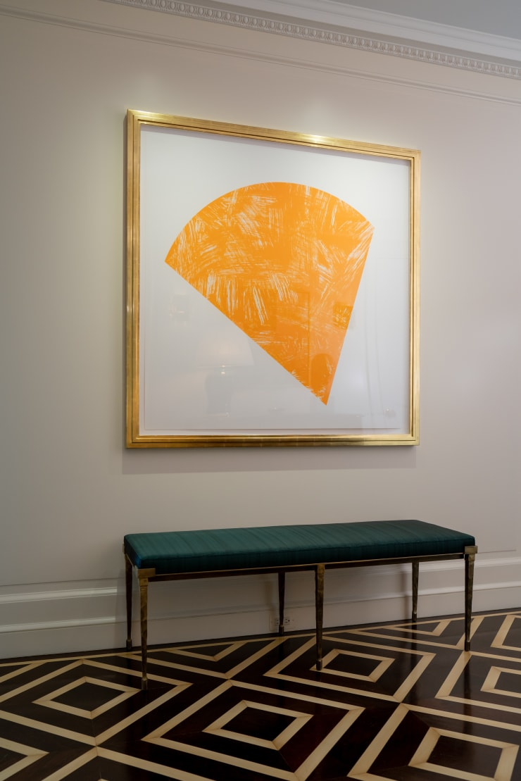 Ellsworth Kelly Untitled (Orange State I), 1988 Color lithograph