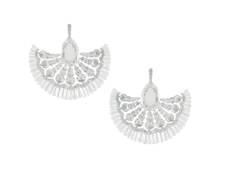 Theodoros Fan Earrings