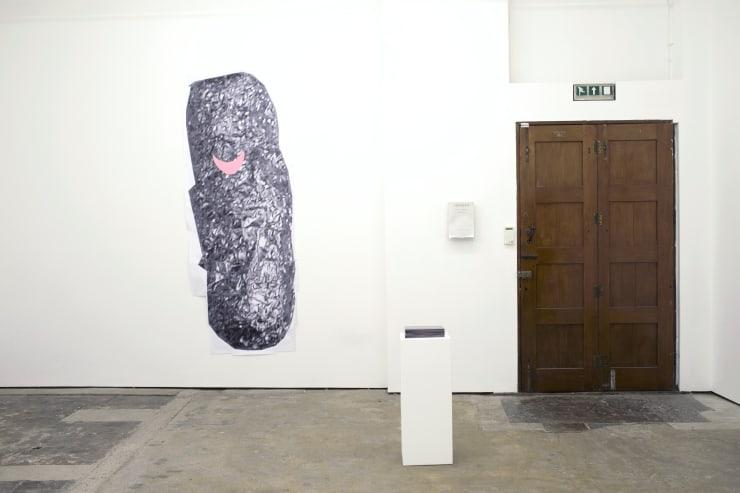 Josephine Flynn, Untitled, 2014, Printed paper, magic tape