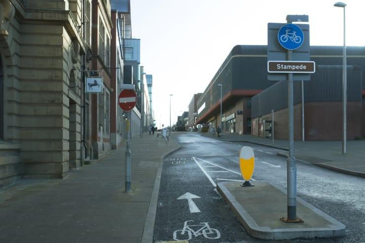 Matt Crawley, Pilgrim (B Road Version), 2014, Street sign