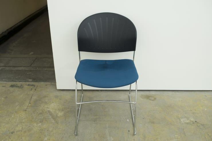 Matt Crawley, Wet Chair, 2014, Invigilators chair, tube, water pump
