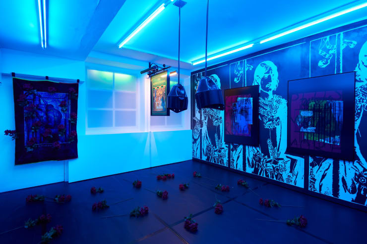 Simeon Barclay England S Lost Camelot Workplace London 2021 Installation Image 01