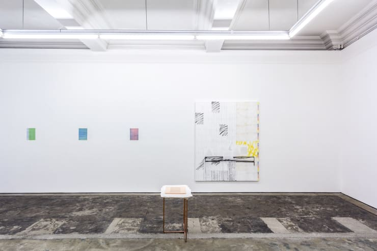 Touche, Éclat installation view at Workplace Gateshead
