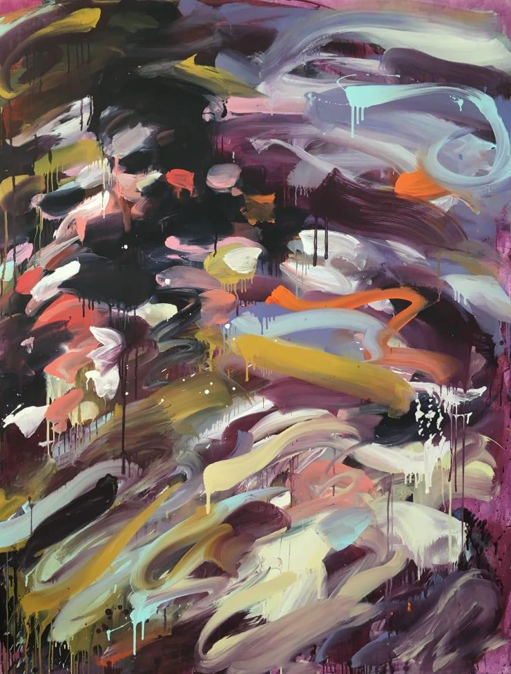 Laura Lancaster Nowhere, 2019 Acrylic on canvas 210 x 160 cm