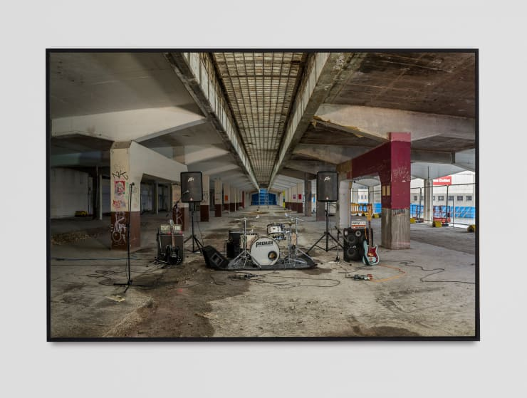 Matt Stokes More Than a Pony Show: White Rabbit & Tramps, Plymouth, 2021 Duratrans print, lightbox and frame 122 x 183 cm 48 1/8 x 72 1/8 in Edition 1 of 5 + 1AP