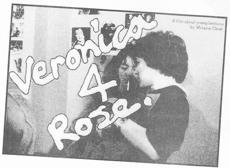 FILM SCREENING: VERONICA 4 ROSE (1982) , Women Artists of the North East Library