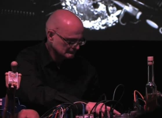 Drone Ensemble in conversation with John Bowers, TUSK Festival 2018