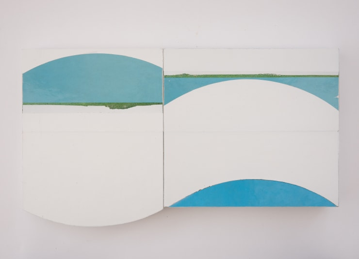 Noel Clueit, Untitled (two parts), 2020