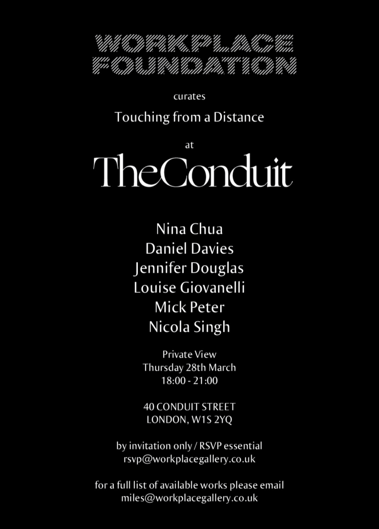 Touching from a Distance at The Conduit