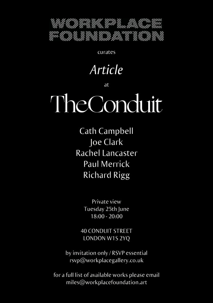 Article The Conduit