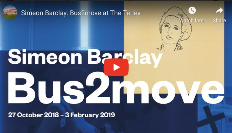 Simeon Barclay 'Bus2Move at The Tetley'