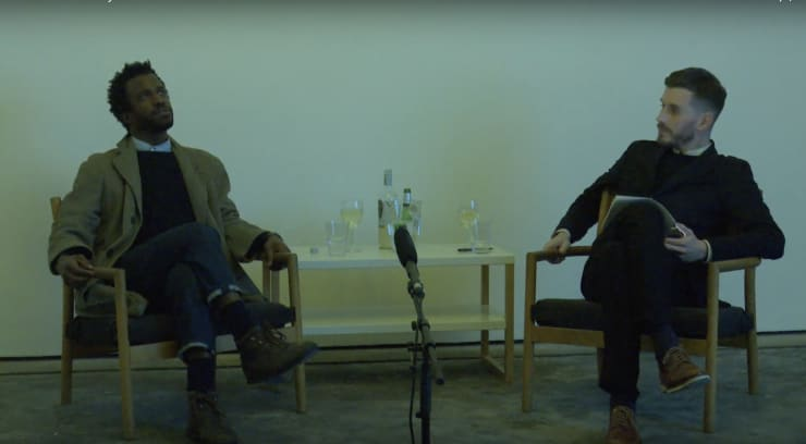 Simeon Barclay in conversation with Adam Carr