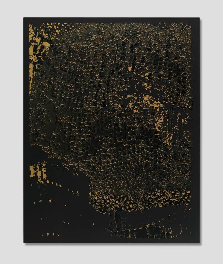 El Anatsui, Black Edge with Pearl, 2013