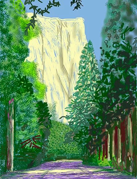 David Hockney at Heard Museum