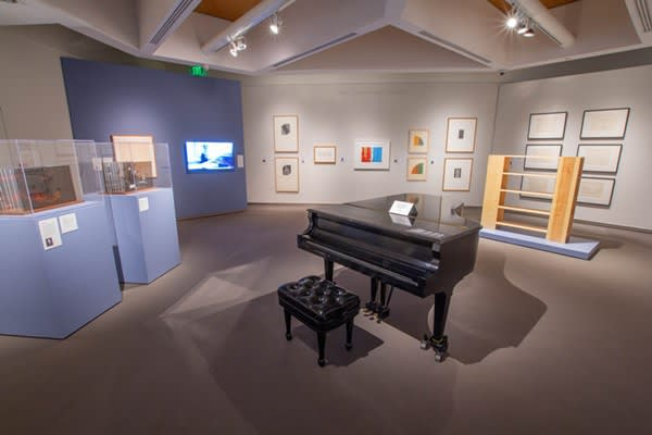 Frank Stella and Sol LeWitt at McNay Art Museum
