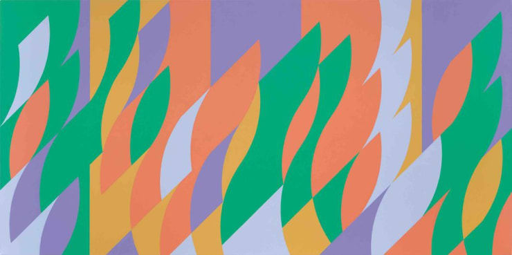 Bridget Riley, Painting with Verticals 3, 2006