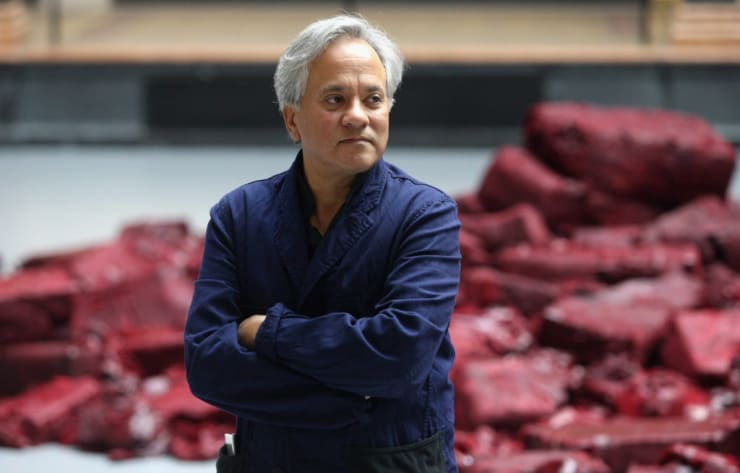 Anish Kapoor. Courtesy of Adam Berry/Getty Images.