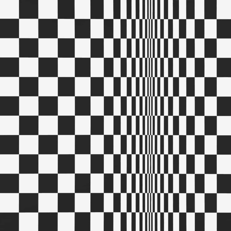 Bridget Riley's Movement in Squares, 1961. Photograph: Bridget Riley