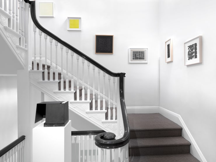 Works by Jorge Oteiza, Elena Asins, Helio Oiticica, Anni Albers, Lygia Clark and Willys de Castro at Minimal Means. Courtesy of Zeit Contemporary Art, New York