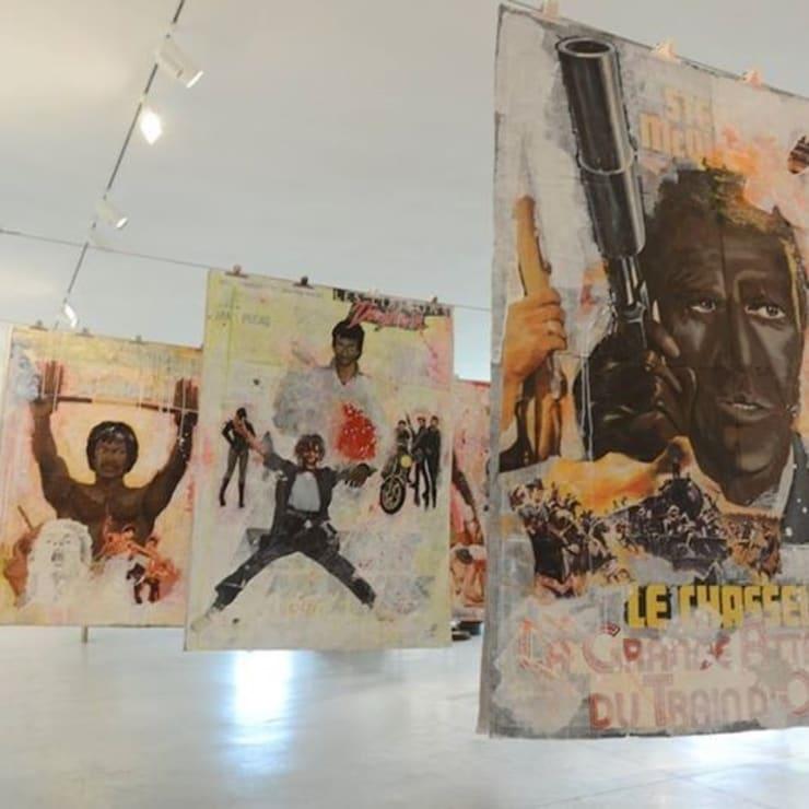 """Exposition """"Espace à louer"""" à la Galerie Cécile Fakhoury à Abidjan 2014 © Virginia Ryan"""