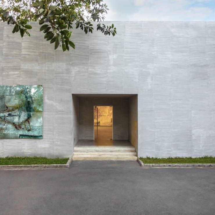 Vue de la galerie à Abidjan, 2019