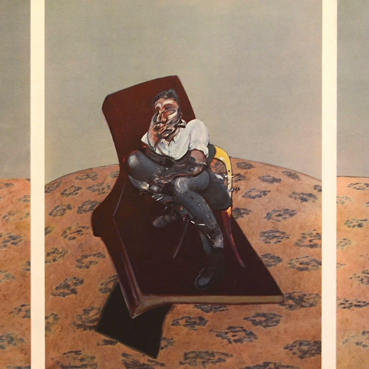 Francis Bacon, Portrait of Lucian Freud, 1966