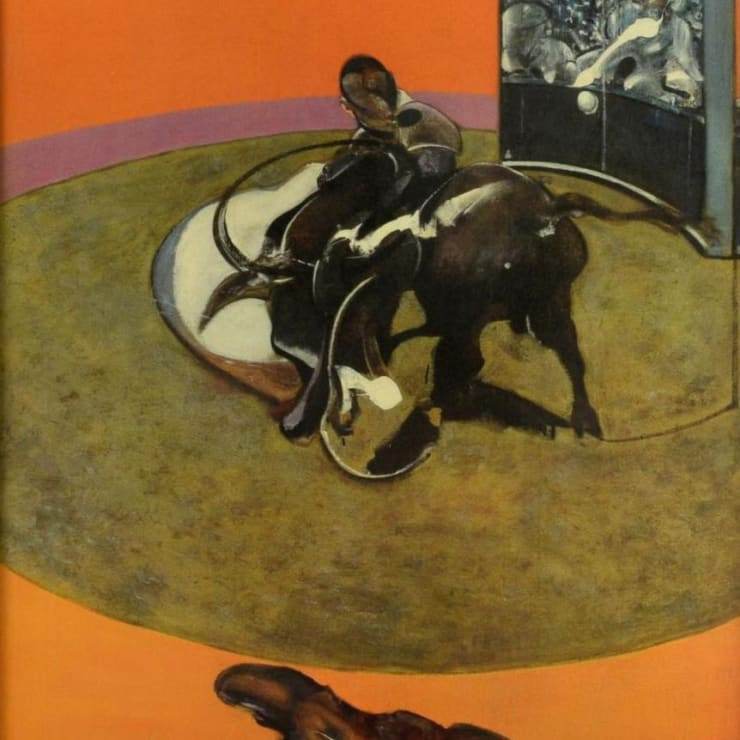 Francis Bacon, Grand Palais Exhibition Poster, 1972