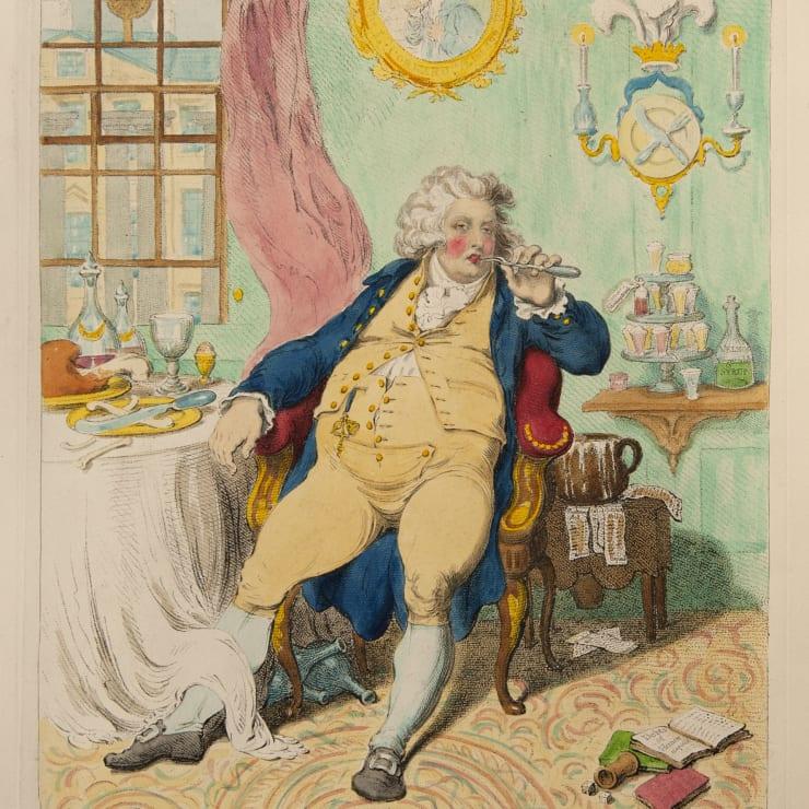 JAMES GILLRAY | Political Ravishment