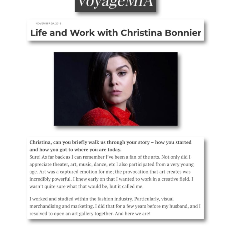 Life and Work with Christina Bonnier