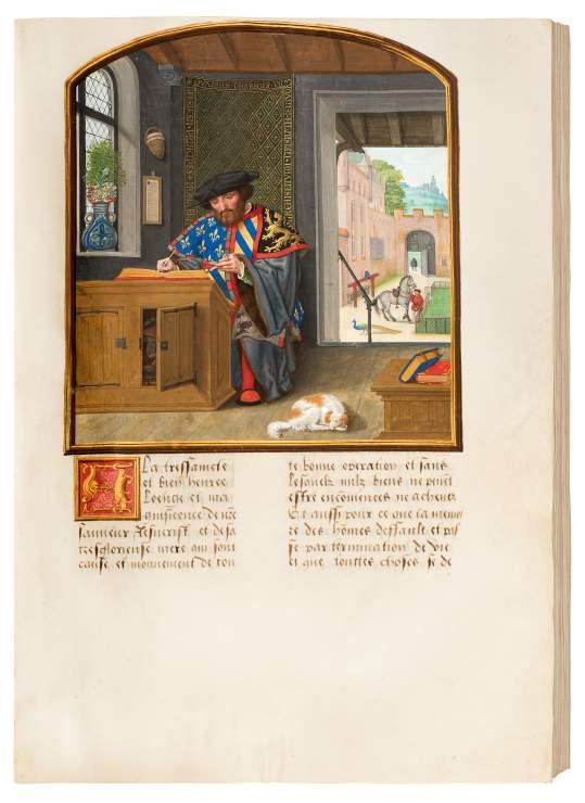 Livre des faits du bon chevalier Jacques de Lalaing.