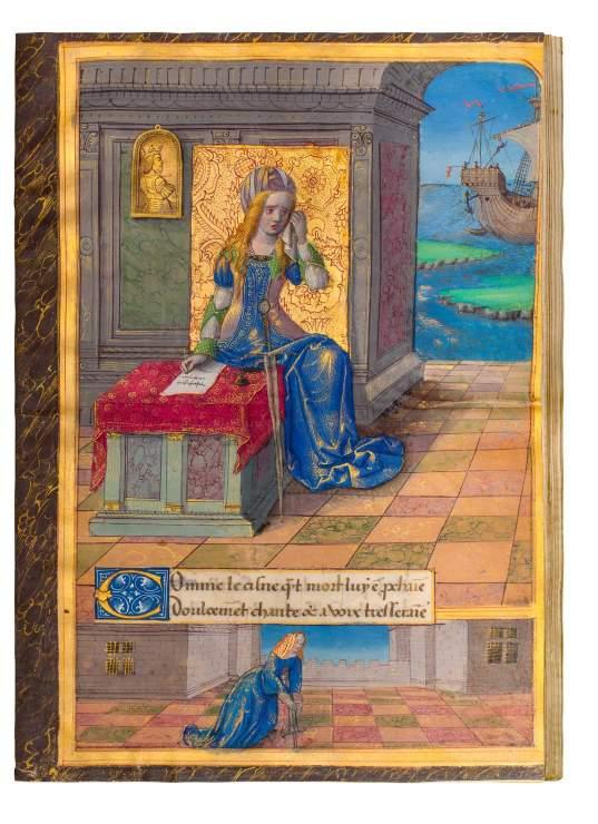 Epistres d'Ovide, of Queen Anne de Bretagne