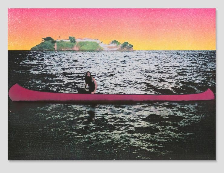 Peter Doig, Canoe Island , 2000