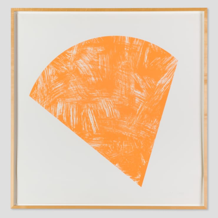 Ellsworth Kelly, Untitled (Orange State I), 1988