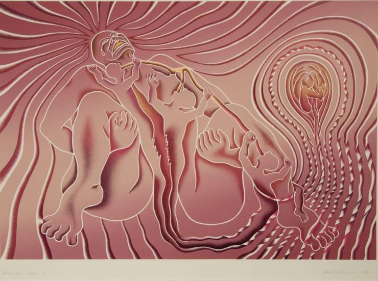 Judy Chicago, Birth Tear/Tear, 1985