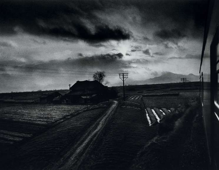 W. Eugene Smith - Landscape from Train, Japan