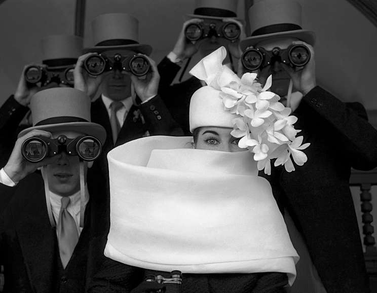 Frank Horvat - Givenchy Hat B