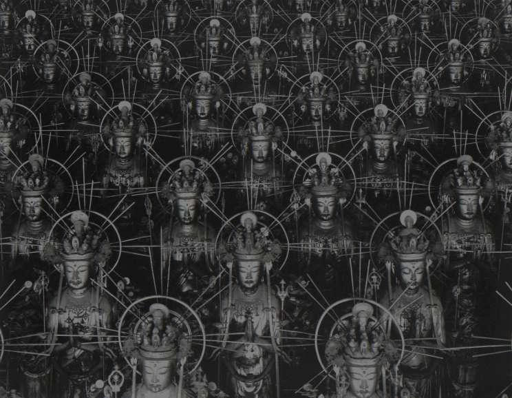 Hiroshi Sugimoto - Hall of Thirty-three Bays (from the series: Sea of Buddha)