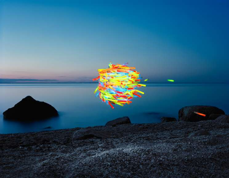 Thomas Jackson - Glow Sticks No. 1, Greenport, New York