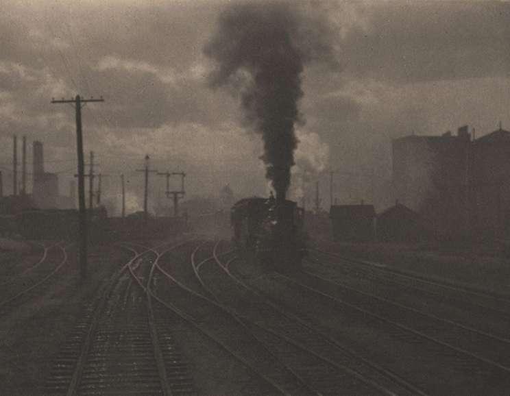 Alfred Stieglitz - The Hand of Man