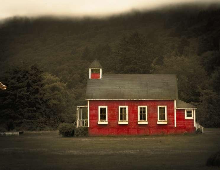 Jack Spencer - Red Schoolhouse, Orick, California
