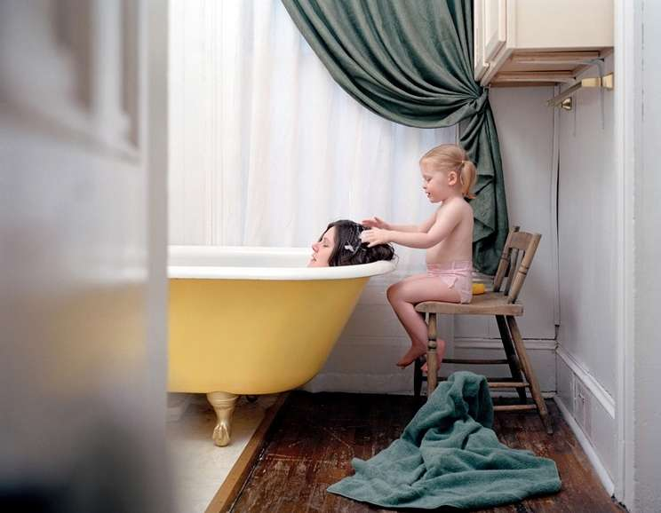 Angela Strassheim - Untitled (Yellow Tub)