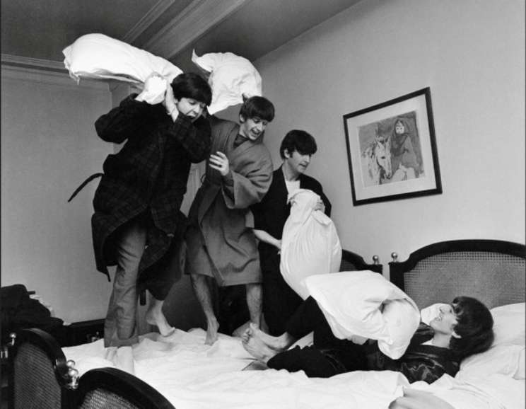 Harry Benson - Beatles Pillow Fight