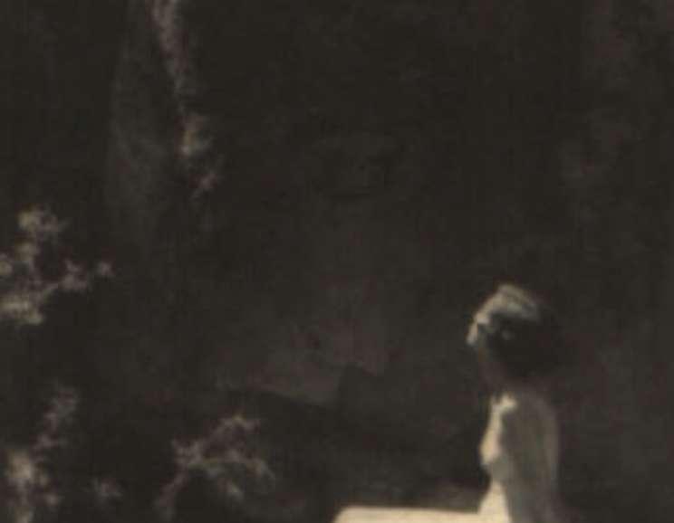 Hannah Forman - Untitled (Nude on Rock)