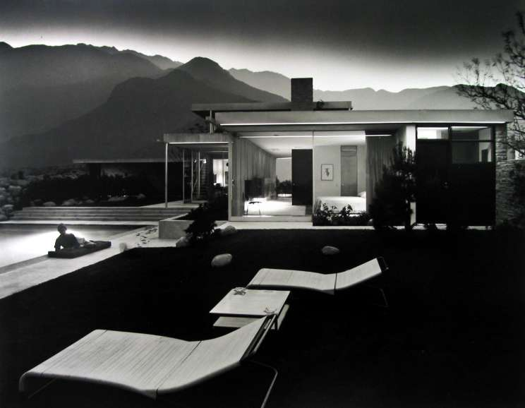 Julius Shulman - Case Study House #22, Playboy
