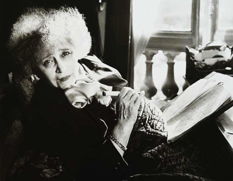 Louise Dahl-Wolfe - Portrait of Colette