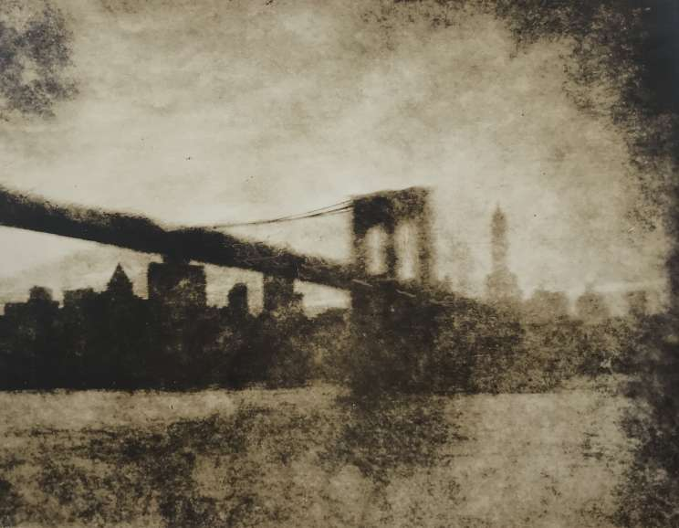 Jessie Tarbox Beals - Bridge at Dusk