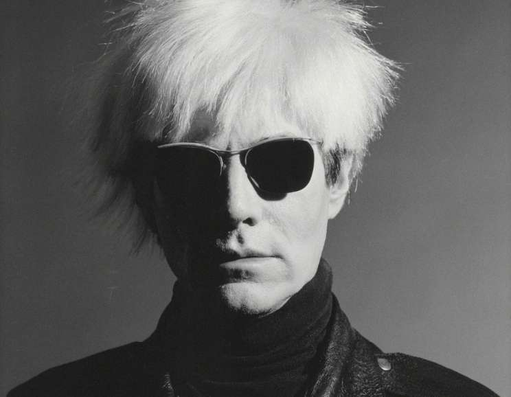 Greg Gorman - Andy Warhol, Los Angeles